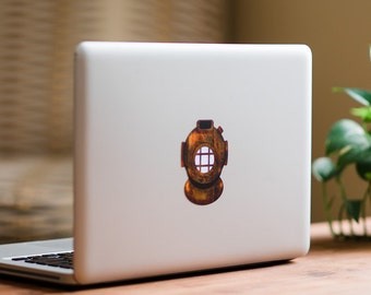 DecalGirl MacBook Decals in a Matte Finish - Deep Dive by FP