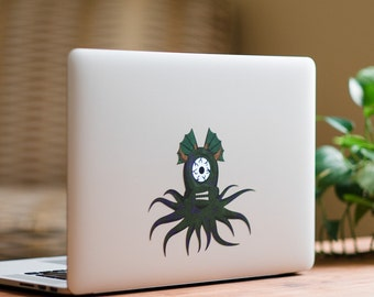 Squid Monster MacBook Sticker by FP from DecalGirl