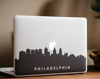 Philadelphia Skyline MacBook Decal Sticker - by FP - DecalGirl