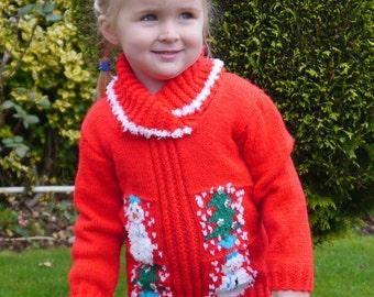 Christmas Sweater Knitting Pattern, Xmas Knitting Pattern, Christmas Knitting Pattern, Snowman Pattern