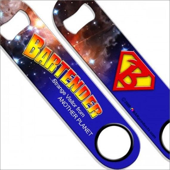 superman bartender speed bottle opener. Black Bedroom Furniture Sets. Home Design Ideas