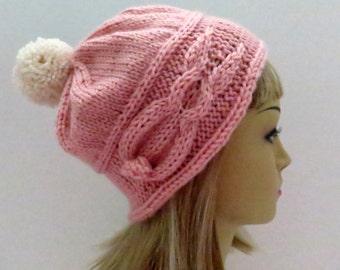 Bunny Knitting Pattern  Hat Pattern