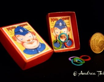 Vintage Toss Game - Mike Murphy - Artisan Handmade Miniature