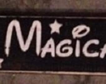 Disney Themed Have a Magical Day Wooden Wall Sign