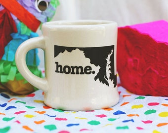 Maryland home. Ceramic Coffee Mug