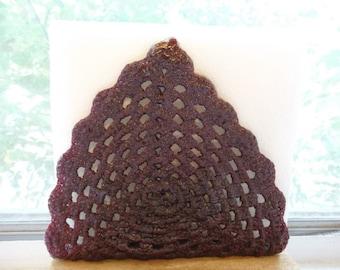 OOAK Handmade Red Crochet Napkin Holder