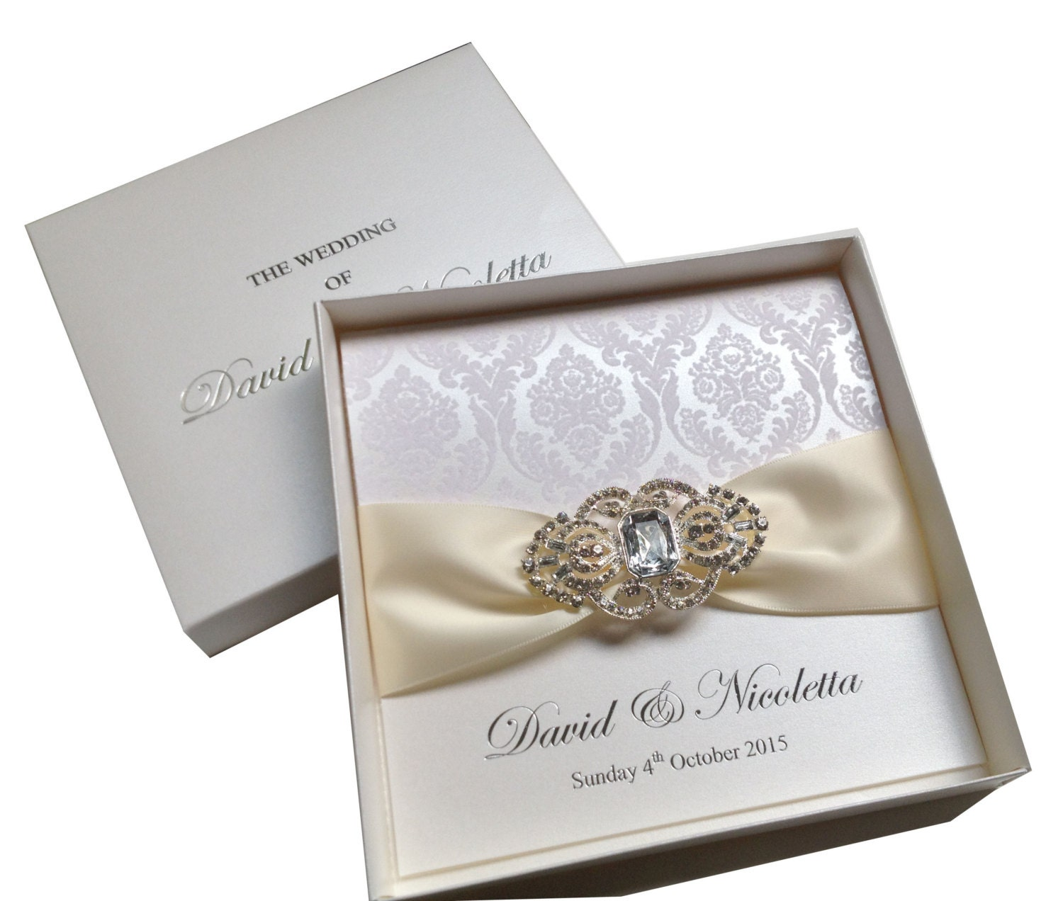 wedding collection boxed invitations