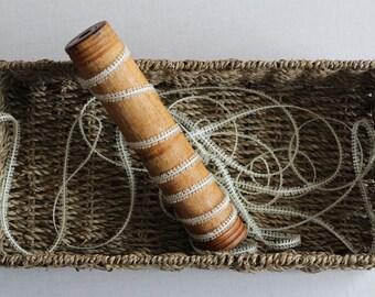 Loop-Trim Ribbon in Ivory
