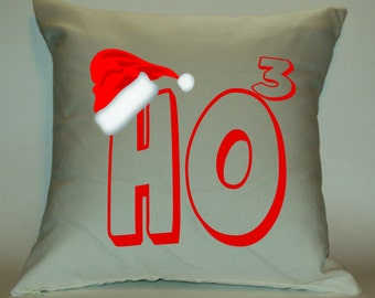 Ho Ho Ho 18X18 Decorative Pillow Cover