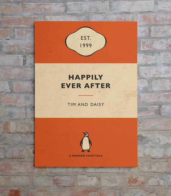 Penguin Book Cover Winners : Penguin book cover canvas personalised by bokaprint on etsy