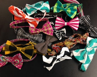 Custom Bow Ties!! Any color, pattern or size.