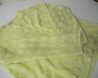 Pin Up Cardigan Sweater Pale Yellow Cardigan Sweater 1950 Pin Up Sweater Summer Sweater Spring Sweater
