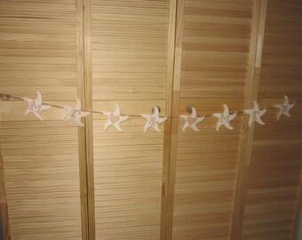 Vintage Wedding Banner, Mr  Mrs Banner, Vintage Wedding, Starfish Banner, Starfish Wedding Banner, Vintage Starfish Banner