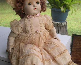 SALE --- Madame Alexander So-Lite Baby Antique Doll --- Reduced