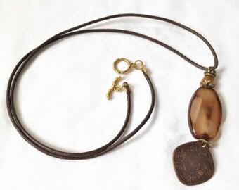 Bronze Gold Pendant