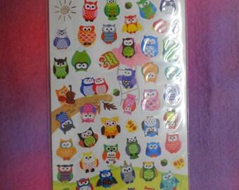 Kawaii Owll Stickers