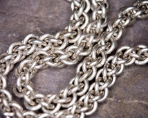 Beautiful Chainmaille Bracelet / Hand made in Sterling Silver