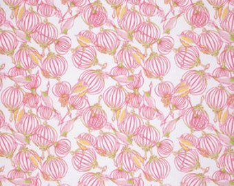 Half Yard - 1/2 Yard -  Tina Givens - FEATHER FLOCK - Birdcage - Pink