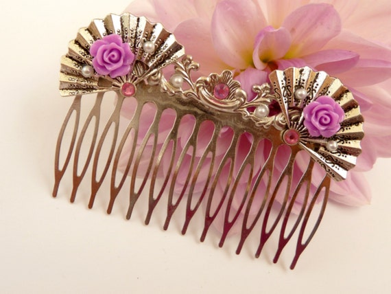 Hair Comb from Schmucktruhe Etsy shop