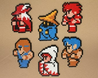 Final Fantasy Perler Bead Sprite Hama Beads Art Characters