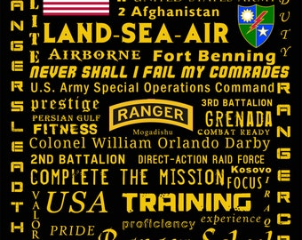 Army Rangers Poster