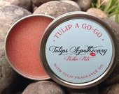 TULIP A GO-GO Tulip Scented Lip Balm Tin - with Fragrance Oil -
