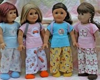 Add on item.  Matching American Girl doll pj pants. Free shipping with purchase