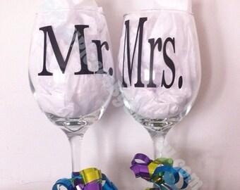 Mr & Mrs Wine Set