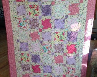 Hand Made Baby Quilt - MADE TO ORDER