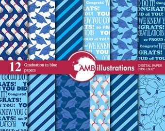 80%OFF Graduation digital papers, Grad papers, Graduation scrapbook papers, commercial use, digital backgrounds, Craft Supplies, AMB-182