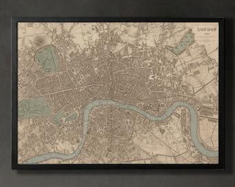 Print Poster London Map