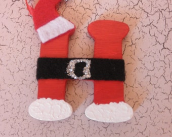 Santa letter ornament, Christmas ornament, Christmas letter ornament, Santa Christmas ornament, Personalized Christmas ornament
