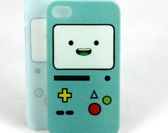 CLOSEOUT! BMO case for iPhone 4 - Adventure Time Beemo Video Game Cartoon