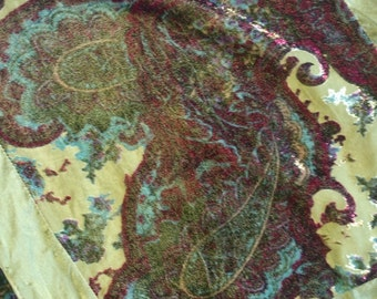Beautiful silk viscose scarf gift for her