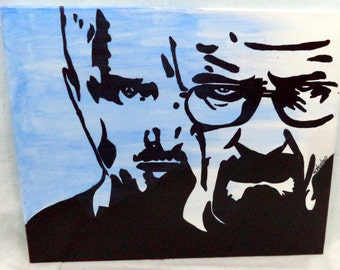 Breaking Bad 16 x 20 Acrylic Painting