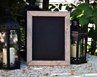 "Rustic Chalkboard 11""x14"", Rustic Frame, Kitchen Chalkboard, Rustic Home Decor, Valentine's Day Gift, Rustic Wedding Sign, Gift for Her"