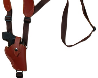 New Concealment Shoulder Gun Holster With Double Magazine