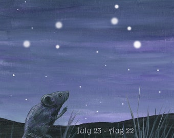 Mouse reaching for the Stars - Leo