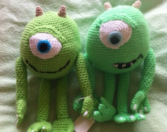 Green Monster- crochet pattern PDF file