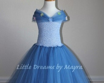 Affordable Cinderella 2015 inspired tutu dress size nb to 12years
