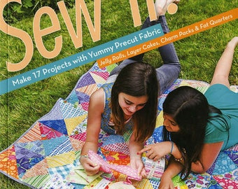 Kids Sewing Book - Sew It! by Allison Nicoll for Fun Stitch Studio - 11048 - Do It Yourself Projects