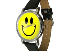Everyone loves a smiley face, get your emoticon on a watch and smile whenever you need to know the time