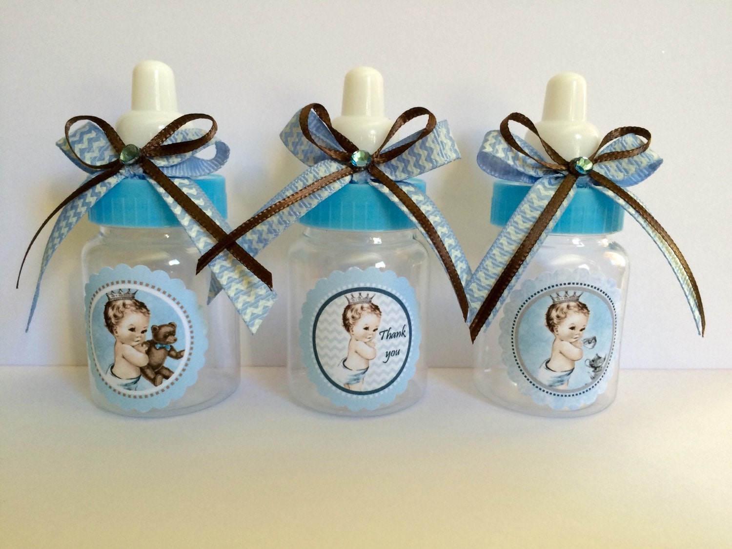 12 vintage little prince baby shower favors by marshmallowfavors