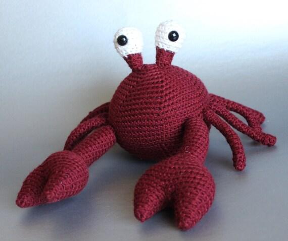 Crochet Amigurumi Crab : Crochet Crab Amigurumi