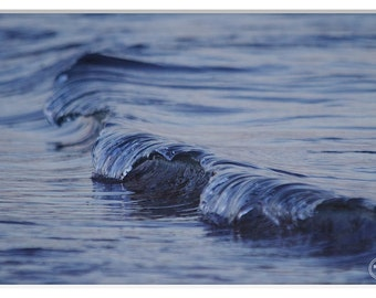 Abstract Water Photography, Blue Wave, Abstract Wave photos, Deep Blue Sea, Blue Water, Blue Print Home Decor, Abstract Water, Little Waves