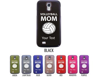 Personalized Engraved Volleyball Mom Case for Samsung Galaxy S3, S4, S5, S6
