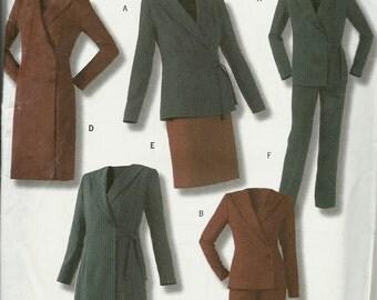 Butterick 4298     Misses Jacket, Dress, Skirt and Pants      uncut  size 6,8,10,12