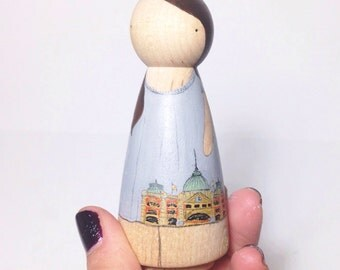Custom peg doll