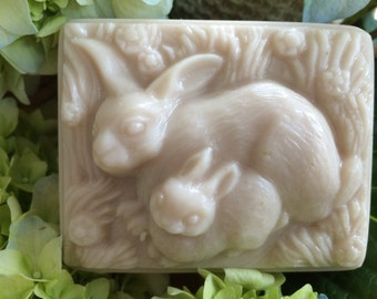 Two Bunnies - Goat's Milk & Shea Butter Soap