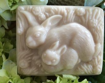 Two Bunnies - Goat's Milk & Shea Butter Soap